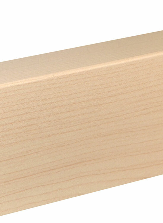 Rohrabdeckleiste FRA02 folienummantelt 41 x 91 mm Ahorn FOAH001, 240 cm