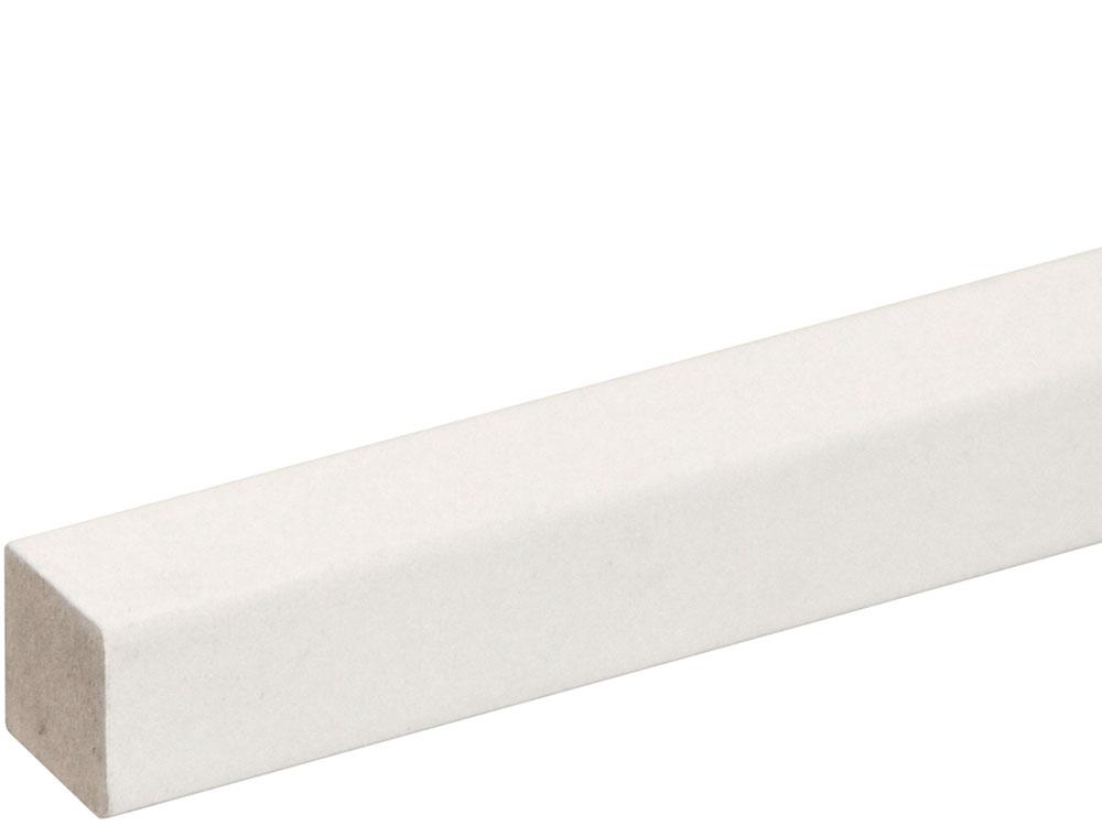 Quadratleiste SF250OC/FU194OC foliert 22 x 22 mm Weiß FOFA015, 240 cm