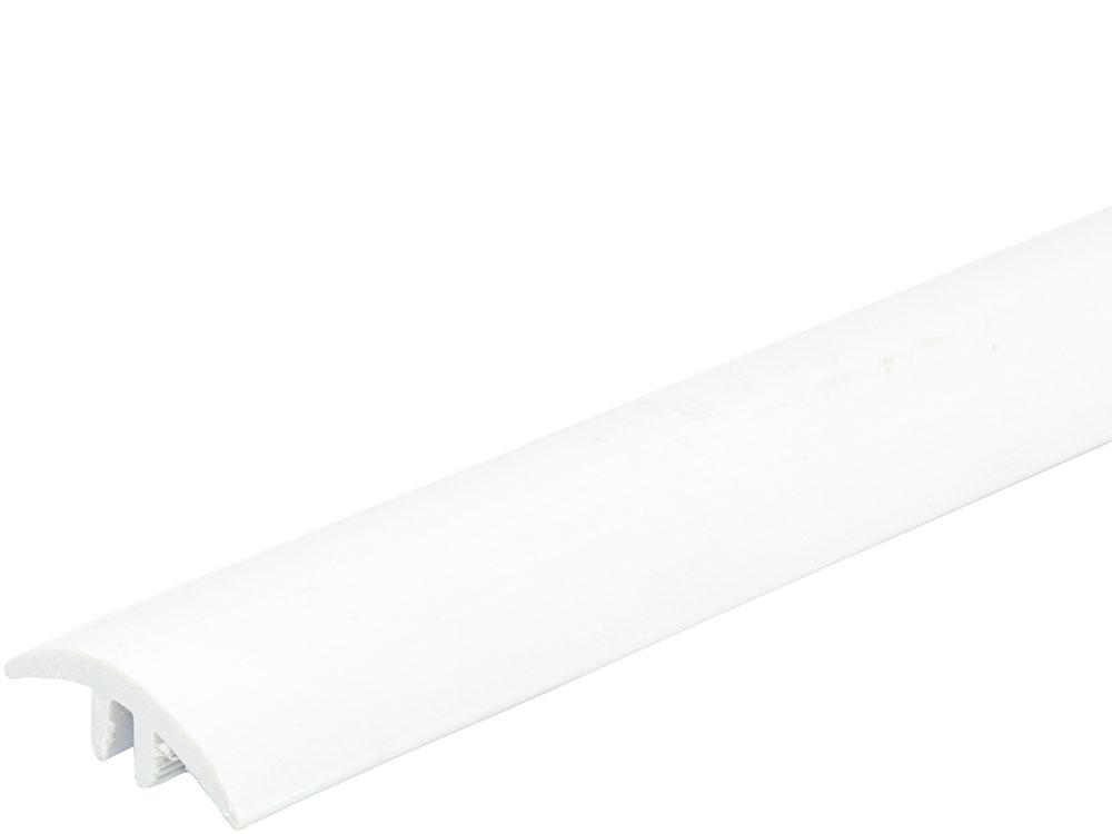 FN Biegeübergangs-Bewegungsprofil Weiß, 600cm