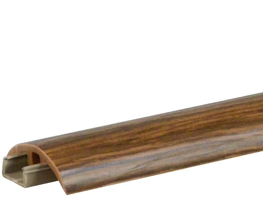 FN Biegeübergangs-Bewegungsprofil Walnuss bedruckt, 600 cm