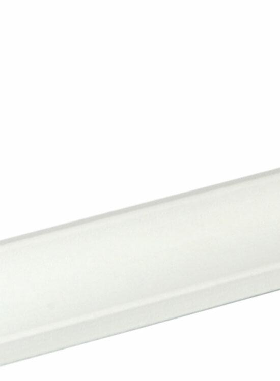 Hohlkehlleiste Buche Weiß lackiert, 240 cm