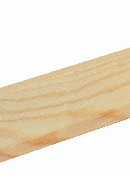 Flachleiste 10 x 46 mm Fichte/Kiefer astrein roh, 240 cm