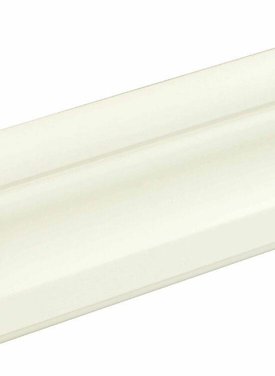 Bekleidungsleiste L0170, RAL9010 15 x 69 mm Fichte/Kiefer weiß lackiert, 220 cm