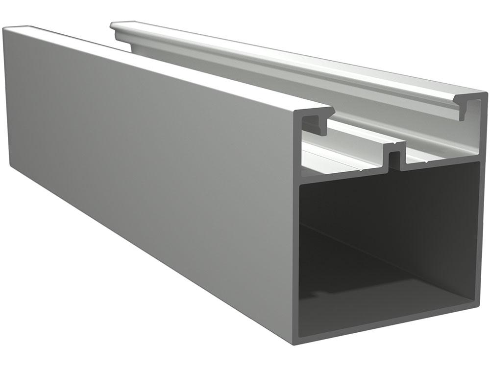 """Twinson Alu Trägerprofil """"Die Mittlere"""", 50 x 50 mm"""