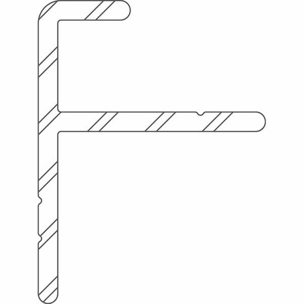 Twinson Alu Start-/Endprofil für CHARACTER MASSIVE und MAJESTIC MASSIVE PRO