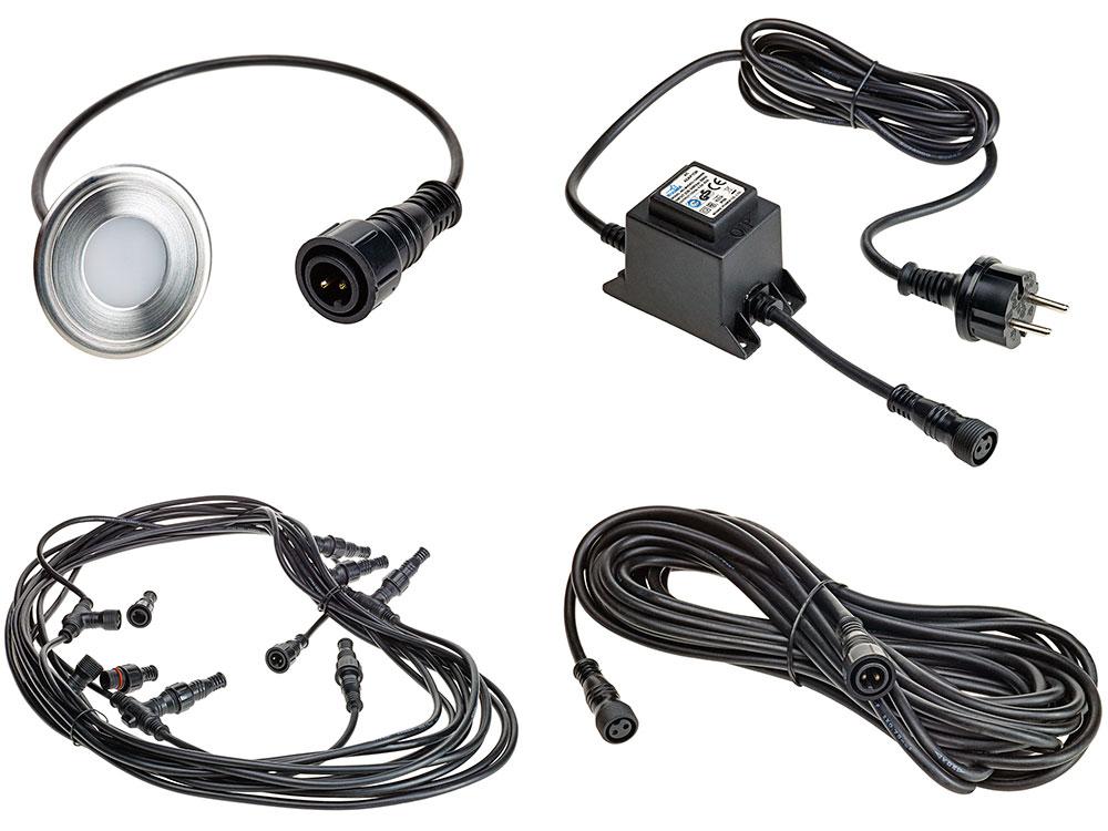 Twinson LED Leuchtsystem / Kit 2 mit speziellem Anschluss für die Schweiz