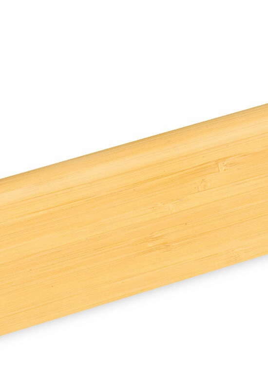 Sockelleiste SU006L1 MD furniert 18,5 x 38,5 mm Bambus natur FRBA071 lackiert, 240 cm