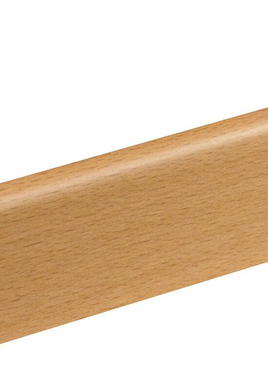 Sockelleiste SU006L FA furniert 18,5 x 38,5 mm Buche Ton 0 FRBU071 lackiert, 250 cm