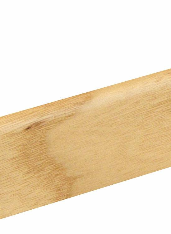 Sockelleiste SU006L FA furniert 18,5 x 38,5 mm Esche FRES071 lackiert, 250 cm