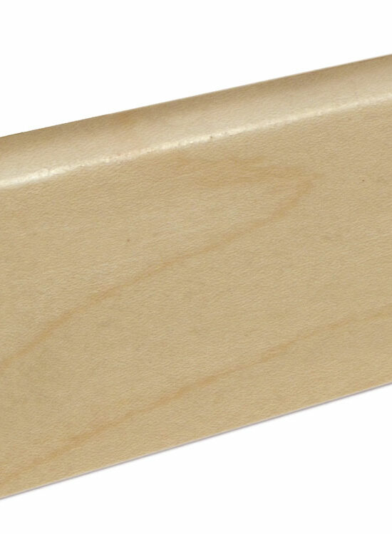 Sockelleiste SU060L MD furniert 19 x 58 mm Ahorn FRAH071 lackiert, 240 cm