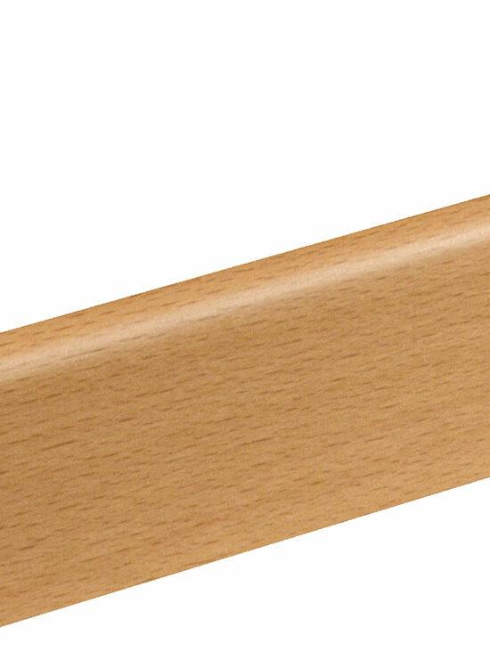 Sockelleiste SU006L MD furniert 18,5 x 38,5 mm Buche Ton 0 FRBU071 lackiert, 240 cm