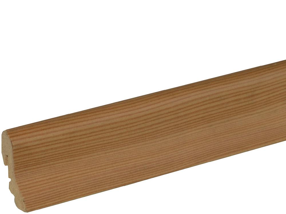 Sockelleiste SU018L MD furniert 18,5 x 38,5 mm Lärche lackiert FRLÄ071, 240 cm