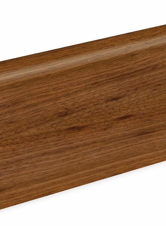 Sockelleiste SU060L MD furniert 19 x 58 mm Nußbaum FRWA071 lackiert, 240 cm
