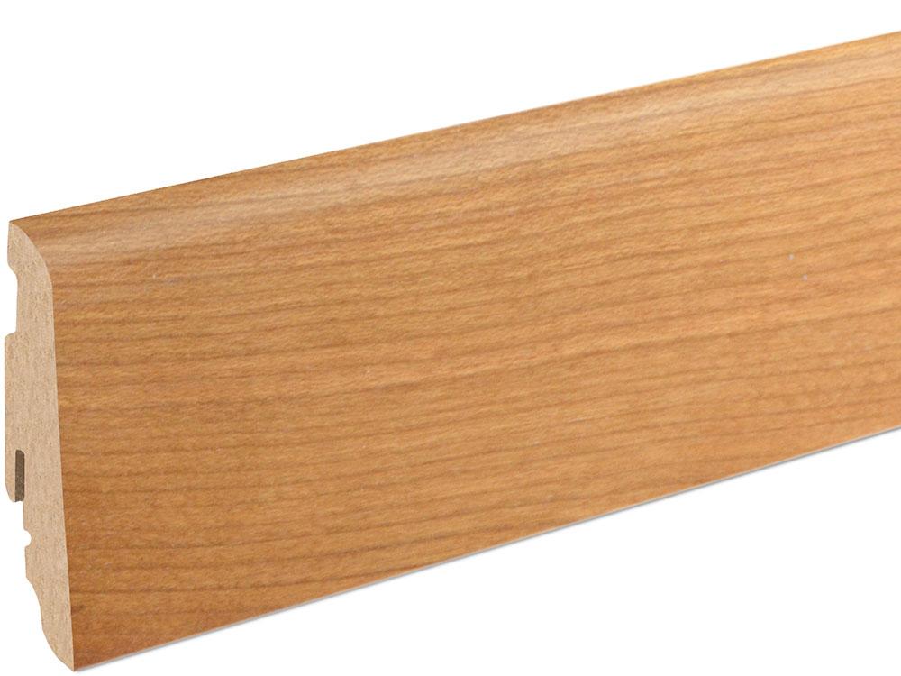 Sockelleiste SU060L MD furniert 19 x 58 mm Kirsch FRKR071 lackiert, 240 cm