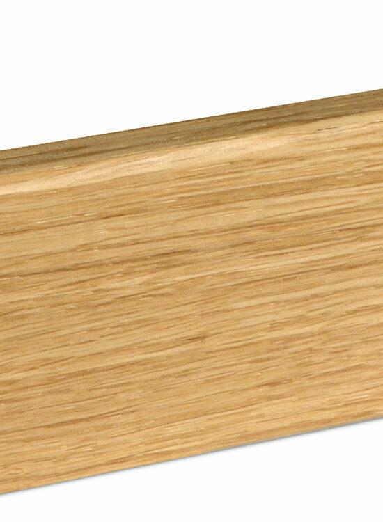 Sockelleiste SU062L MD furniert 15 x 58 mm Eiche FREI071 geölt, 240 cm