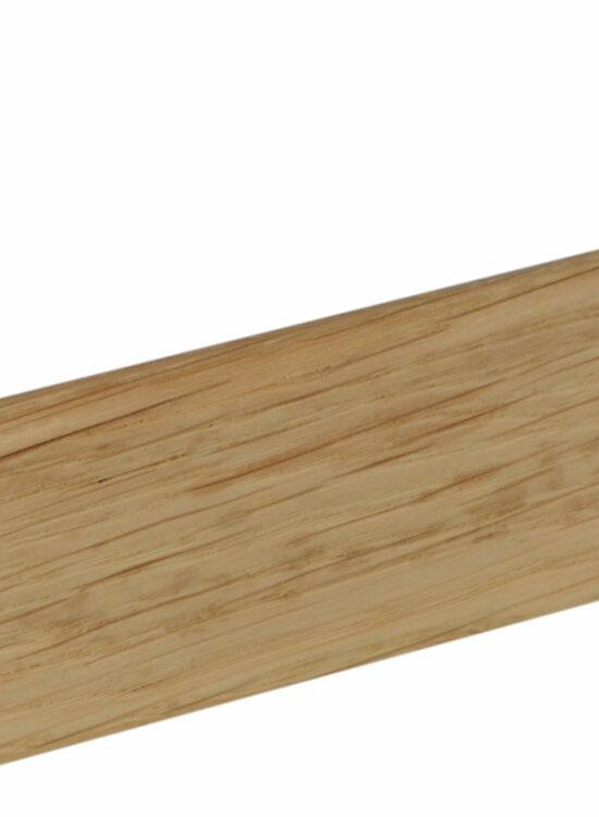 Sockelleiste S0401 Massiv GG 15-20 11,5 x 40 mm Eiche lackiert, 240 cm