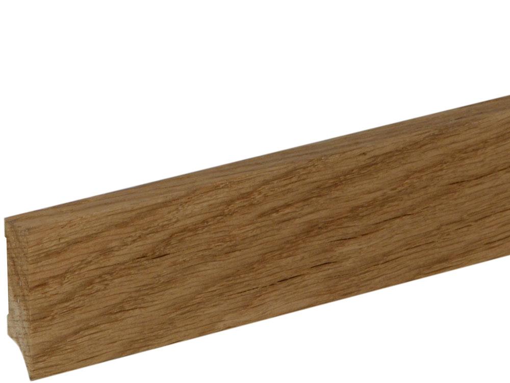 Sockelleiste S0402 Massiv GG 15-20 12 x 40 mm Eiche lackiert, 240 cm
