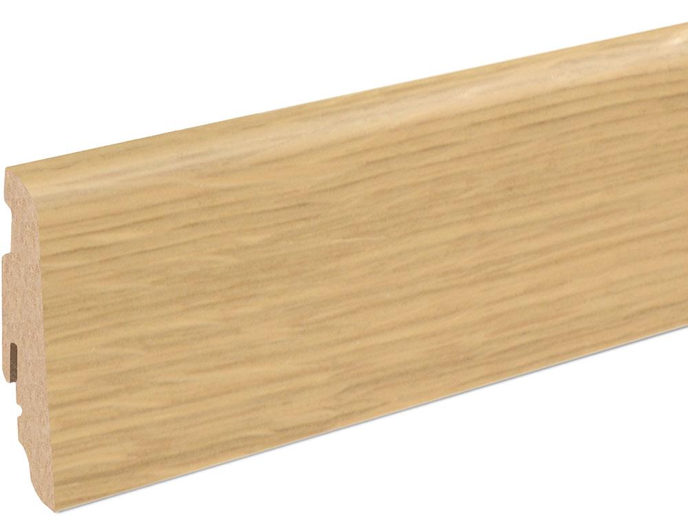 Sockelleiste SU060L MD furniert 19 x 58 mm Eiche esprit FLEI221 lackiert, 240 cm