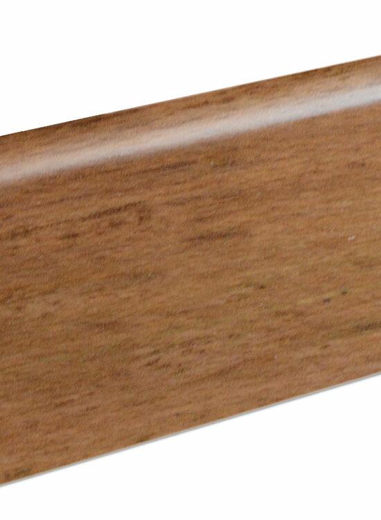 Sockelleiste SU060L MD furniert 19 x 58 mm Merbau/Jatoba FDME001 lackiert, 240 cm