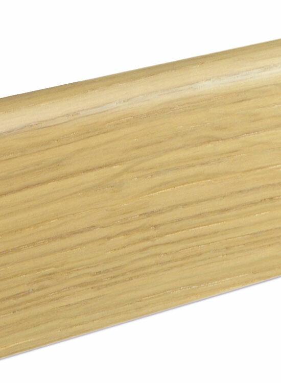 Sockelleiste SU060L MD furniert 19 x 58 mm Eiche Kaschmir FLEI267 lackiert, 240 cm