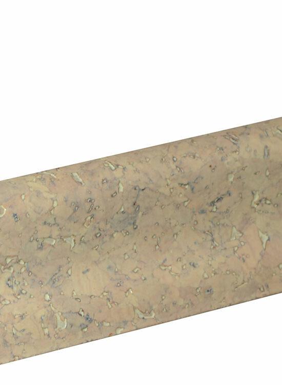 Sockelleiste SU018L MD furniert 18,5 x 38,5 mm Kork grob 0350 lackiert FRKO002, 240 cm
