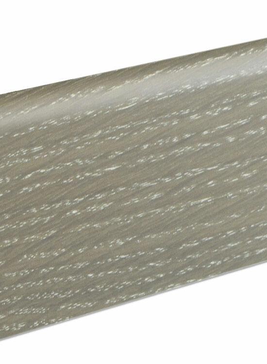 Sockelleiste SU060L MD furniert 19 x 58 mm Eiche graumatt FGEI150 geölt, 240 cm