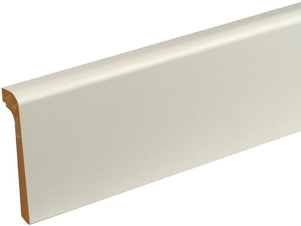 Sockelleiste FU123OC foliert 24 x 92 mm Weiß FOFA015, 240 cm