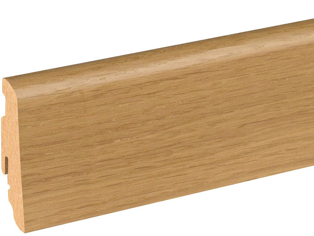 Sockelleiste SU060L MD furniert 19 x 58 mm Eiche Naturel FGEI120 geölt, 240 cm
