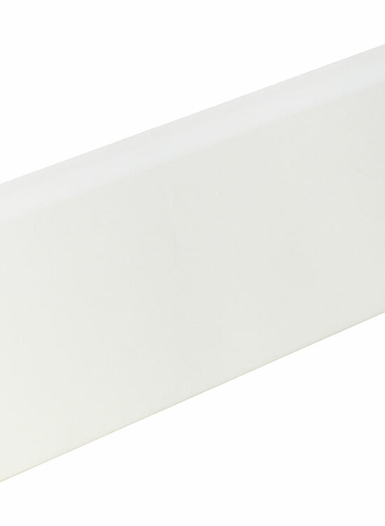 Sockelleiste FU123K foliert 24 x 92 mm Weiß FOFA015, 240 cm