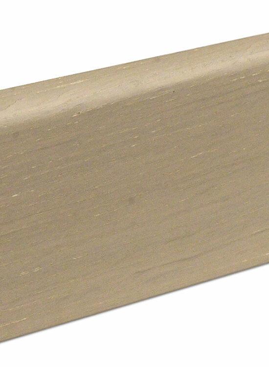 Sockelleiste SU060L MD furniert 19 x 58 mm Oak brushed FLEI314 lackiert, 240 cm