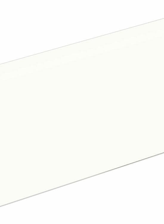 Sockelleiste FU123C für Clik-Fix 17 24 x 92 mm Weiß FOFA015, 240 cm