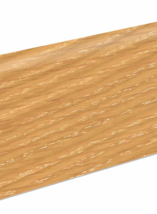 Sockelleiste SU060L MD furniert 19 x 58 mm Eiche gekalkt FLEI110 lackiert, 240 cm