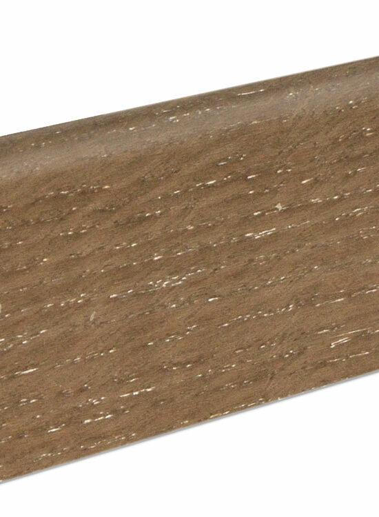 Sockelleiste SU060L MD furniert 19 x 58 mm Eiche smoked FLEI340 lackiert, 240 cm