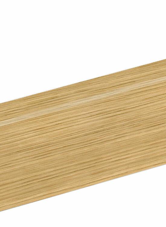 Sockelleiste SU047L FA furniert 16 x 40 mm Eiche FREI071 lackiert, 250 cm