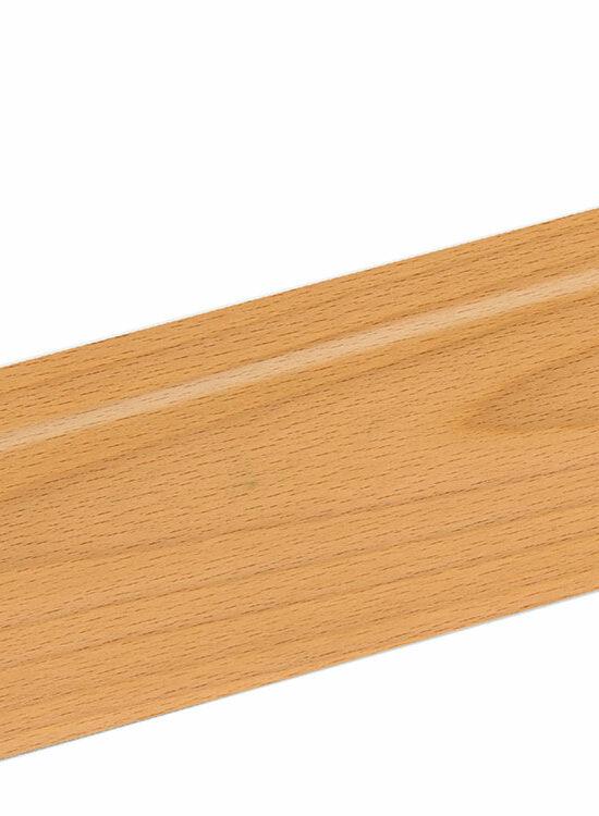 Sockelleiste SU047L FA furniert 16 x 40 mm Buche Ton 0 FRBU071 lackiert, 250 cm