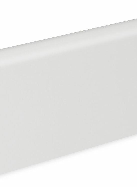 Sockelleiste SU060L FA foliert 19 x 58 mm Weiß RAL9016 FLFO004 lackiert, 250 cm
