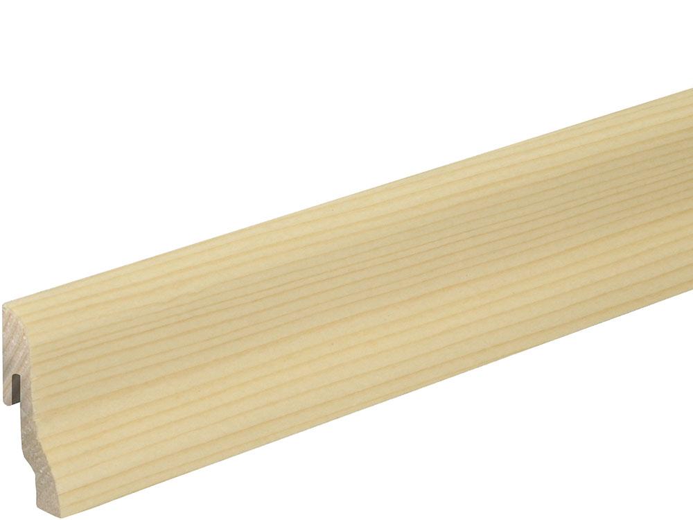 Sockelleiste SU018L FA furniert 18,5 x 38,5 mm Fichte FLFI073 lackiert, 250 cm