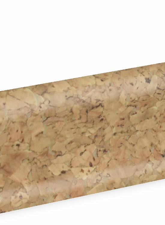 Sockelleiste SU018L FA furniert 18,5 x 38,5 mm Kork grob FRKO002 lackiert, 250 cm