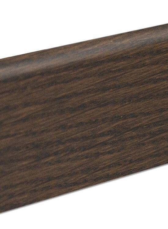Sockelleiste SU060L MD furniert 19 x 58 mm Eiche marenobraun FGEI148 geölt, 240 cm