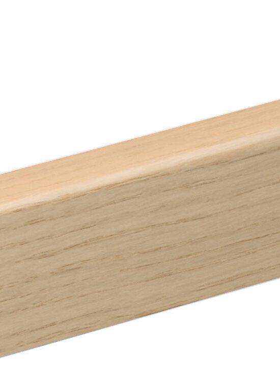 Sockelleiste SU047L FA furniert 16 x 40 mm Eiche weiß FGEI124 geölt, 250 cm