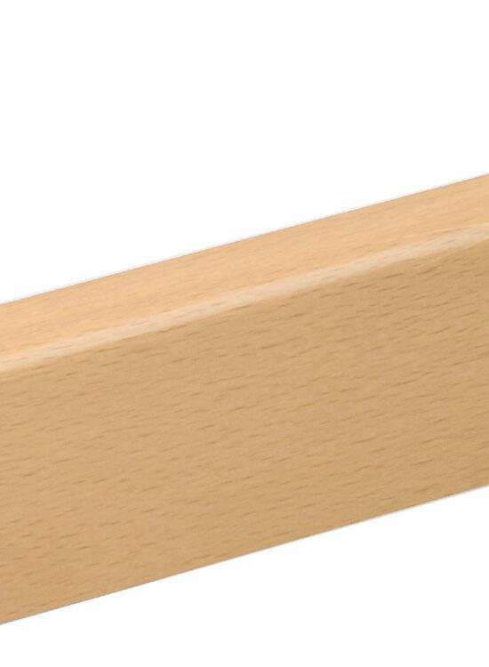 Sockelleiste SU047L FA furniert 16 x 40 mm Buche gedämpft FLBU084 lackiert, 250 cm
