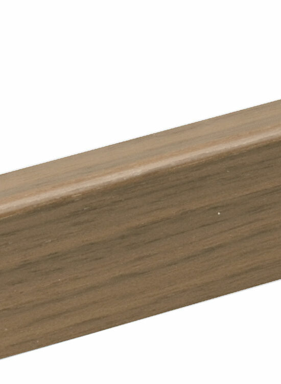 Sockelleiste SU047L FA furniert 16 x 40 mm Nussbaum FLWA077 lackiert, 250 cm