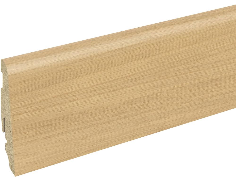Sockelleiste SU060L MD furniert 19 x 58 mm Eiche invisible FGEI213 geölt, 240 cm