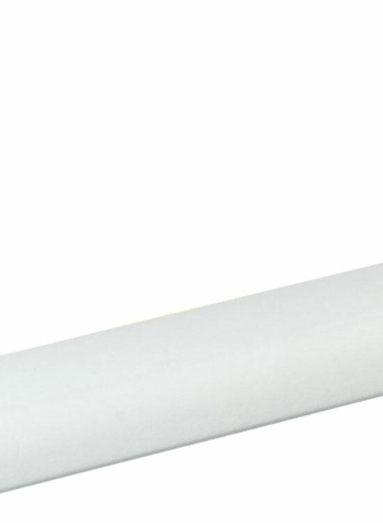 Viertelrundstab 14 x 14 mm Buche Weiß lackiert, 240 cm