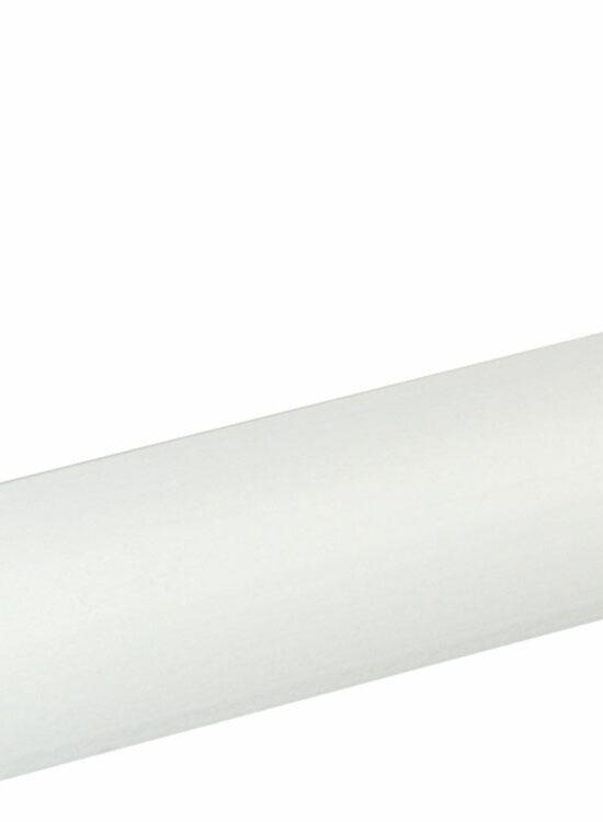 Viertelrundstab 22 x 22 mm Buche Weiß lackiert, 240 cm