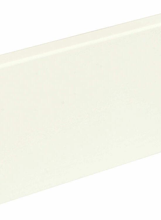 Sockelleiste eckig L0157L, RAL9010 18 x 96 mm Fichte/Kiefer weiß lackiert, 240 cm