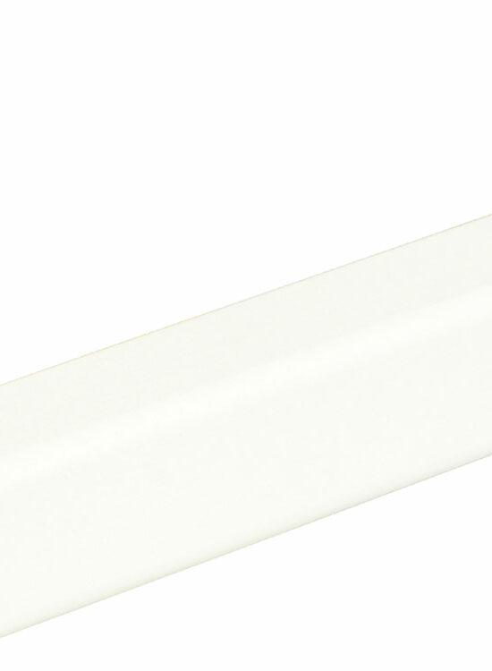 Winkelleiste L0183, RAL9010 28 x 28 mm Fichte/Kiefer weiß lackiert, 240 cm