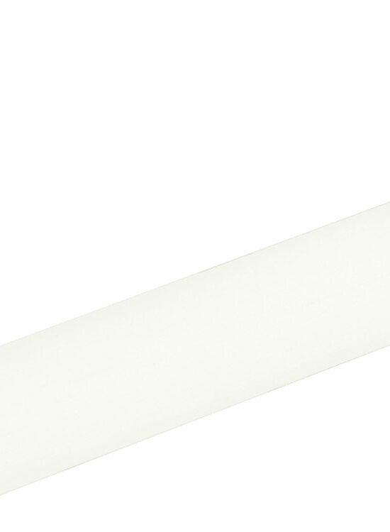 Viertelrundstab L0185, RAL9010 18 x 18 mm Fichte/Kiefer weiß lackiert, 240 cm