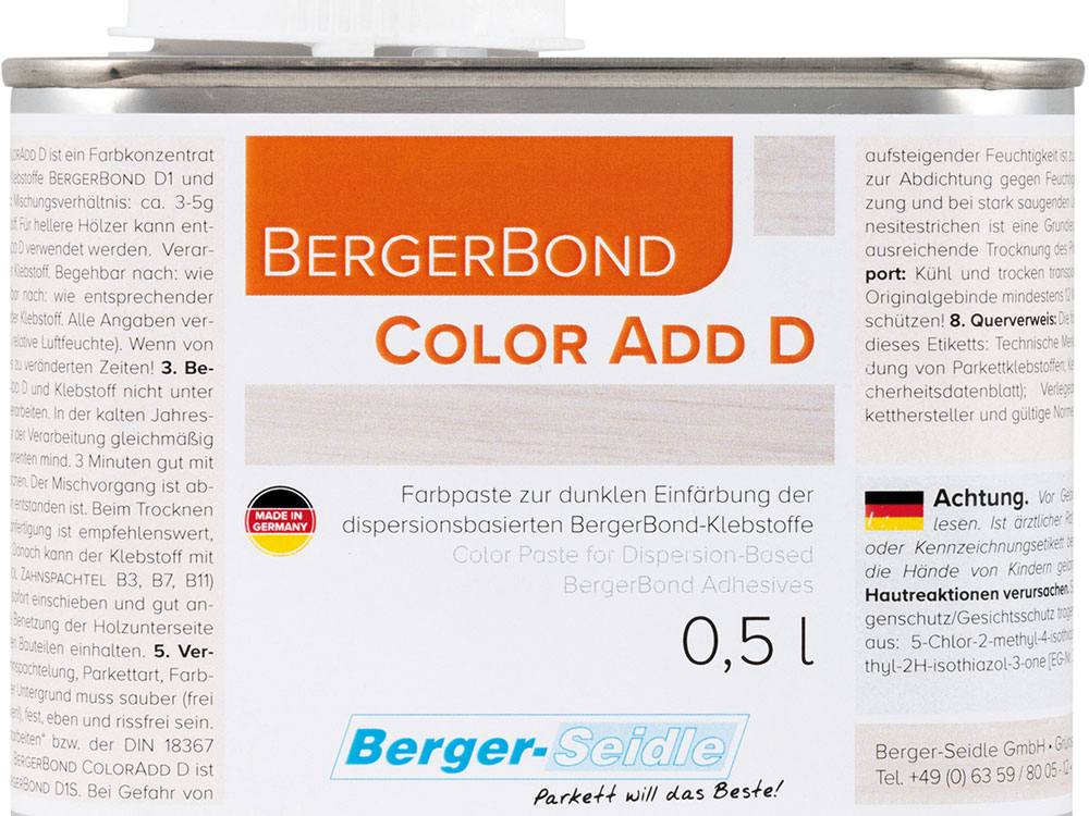 BergerBond® ColorAdd D