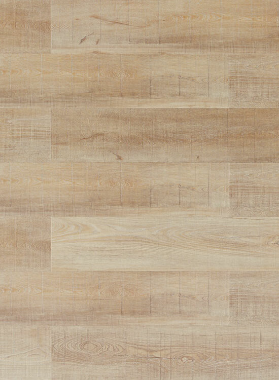 Wasserfester Fertigboden Holzoptik WICANDERS wood Hydrocork | Sawn Bisque Oak | synchrongeprägt